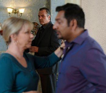 EastEnders 03/10 - Masood throws Carol a birthday party