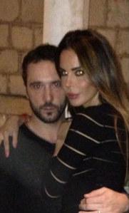 Nina Moric e il marito Massimiliano Dossi