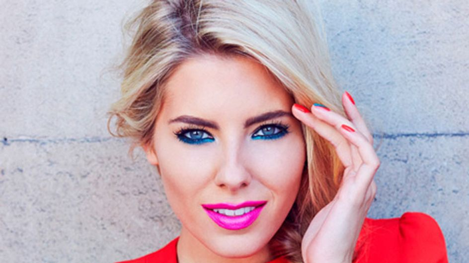 Mollie King teams up with Maybelline for Vodafone London Fashion Weekend