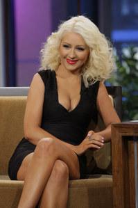 Christina Aguilera bei ihrem Fernsehauftritt