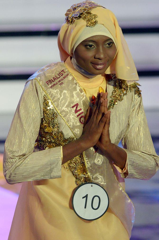 Miss Nigeria, la ganadora del certamen