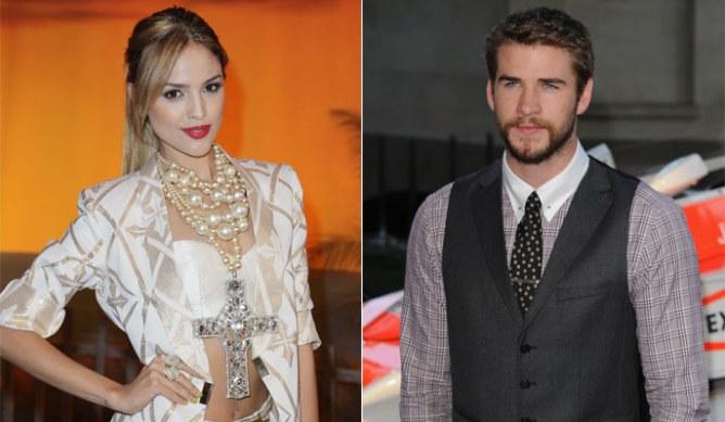 Eiza Gonzalez and Liam Hemsworth