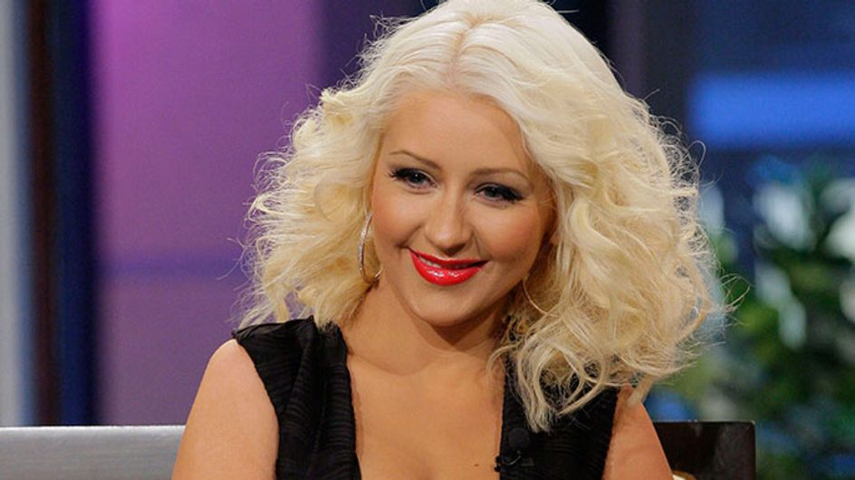 Christina Aguilera looks slimmer than ever on Tonight Show