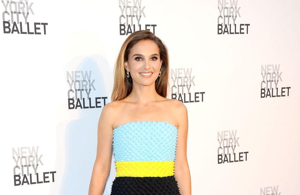 Natalie Portman, un look piquant sur le tapis rouge