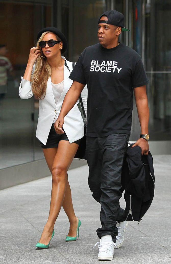 Platz 1: Beyoncé & Jay Z