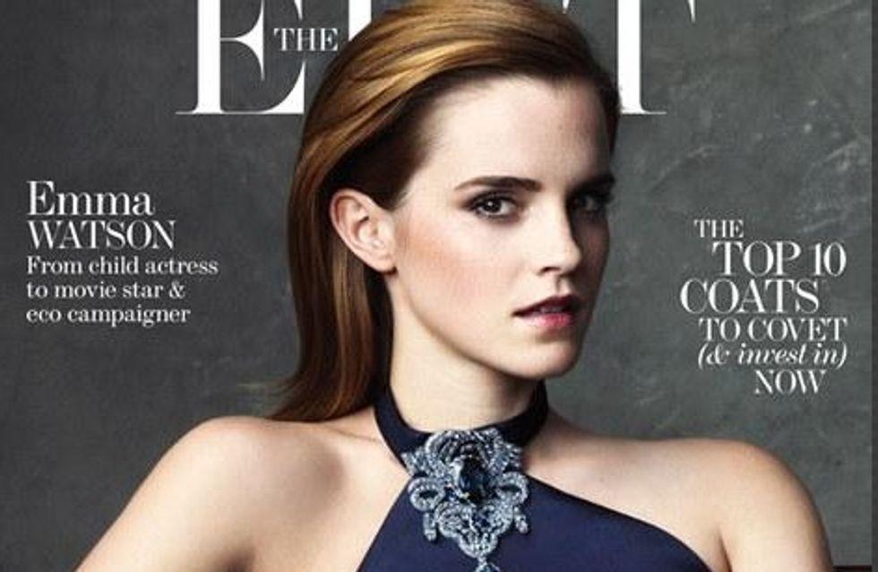 Emma Watson : Glamour pour The Edit (photos)
