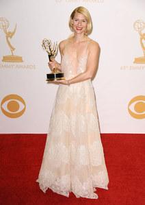 Claire Danes sacrée meilleure actrice dans Homeland