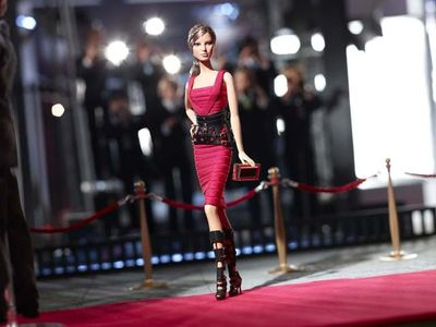 Barbie, Hervé Léger by Max Azria