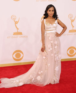 Kerry Washington (Scandal) aux Emmy Awards 2013