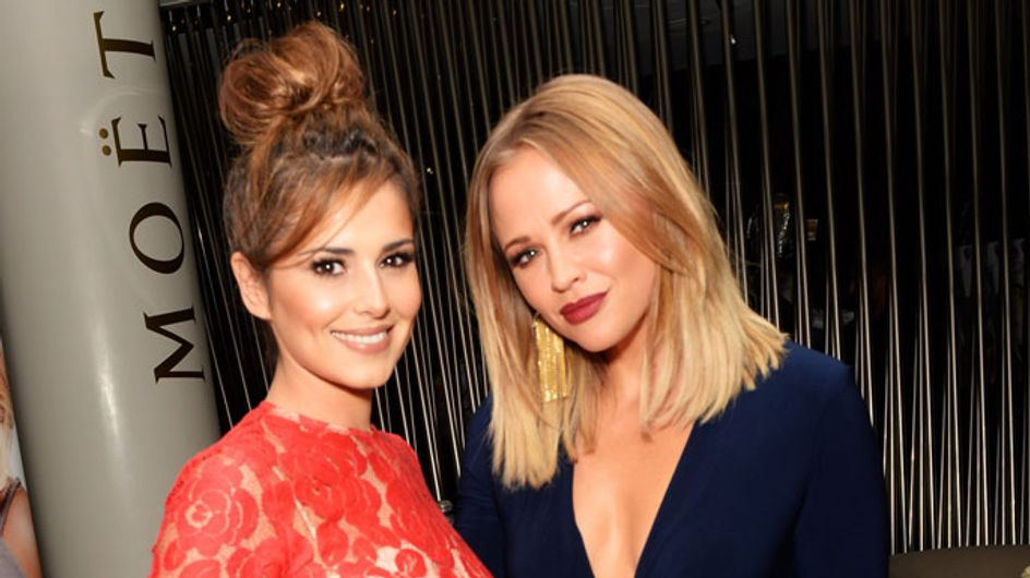 Cheryl Cole supports BFF Kimberley Walsh at book launch