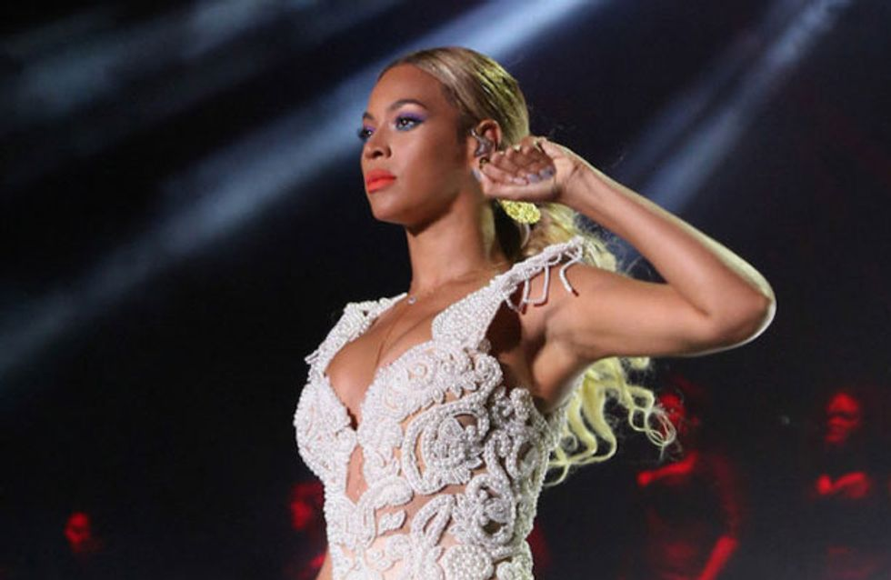 Bored of the bob already? Beyonce ditches her short hair for longer locks