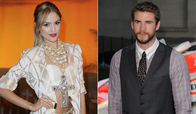 Liam Hemsworth and Eiza Gonzalez