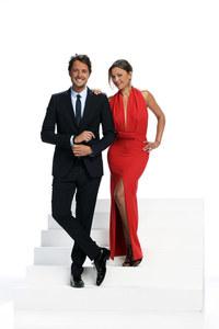 Sandrine Quetier et Vincent Cerruti
