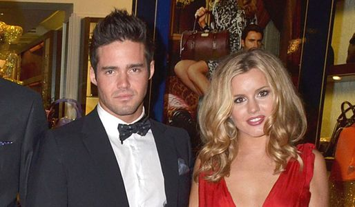 Spencer Matthews and Caggie Dunlop