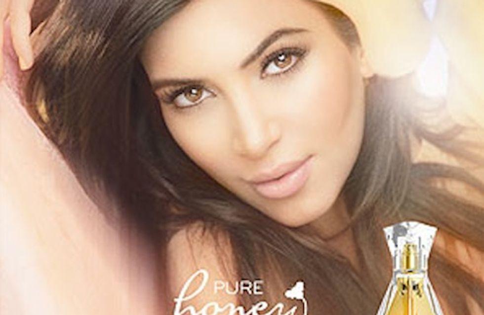 Kim Kardashian : Radieuse dans la pub de son nouveau parfum (Photos)