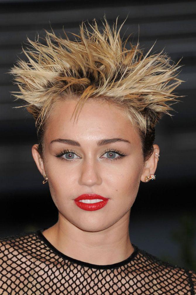 Miley Cyrus voted worst celebrity hair whist Nicole Scherzinger's got the leading locks