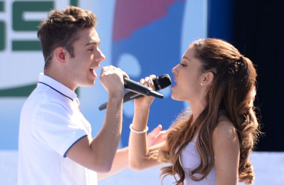 The Wanted's Nathan Sykes confirms he's dating Nickelodeon star Ariana Grande