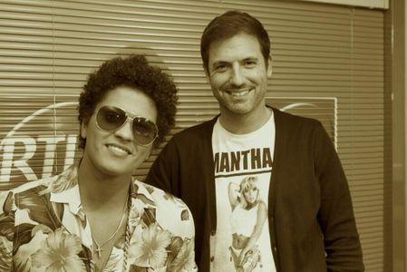 Grégory Ascher et Bruno Mars