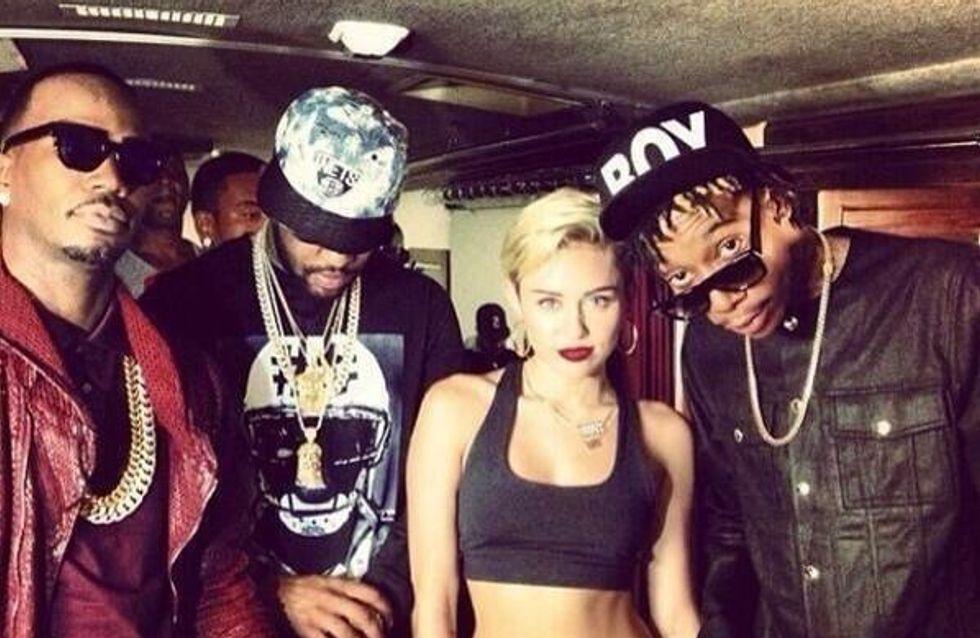 Miley Cyrus : Un featuring avec son nouveau petit ami (vidéo)