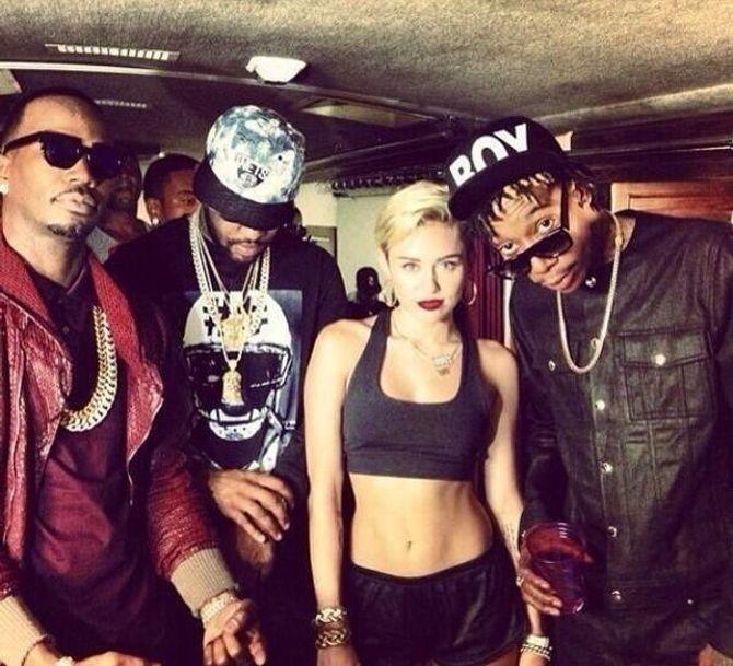 Miley Cyrus, Wiz Khalifa, Juicy J et Mike Made Will It