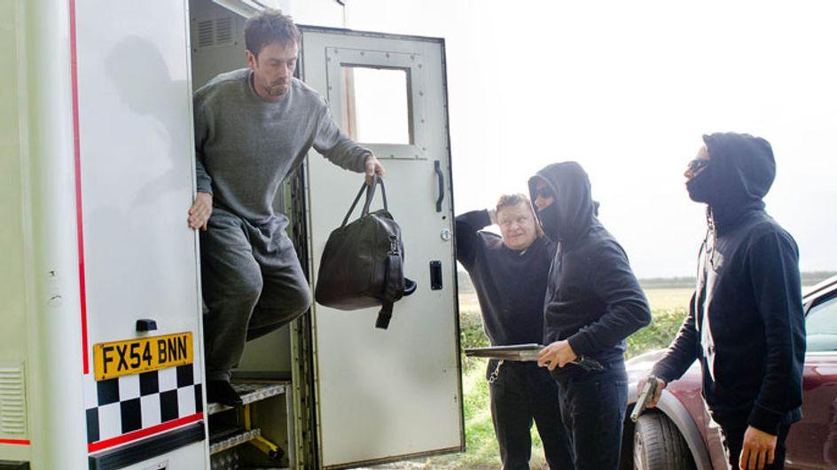 Emmerdale 10/10 - Cameron escapes after the prison van is ambushed