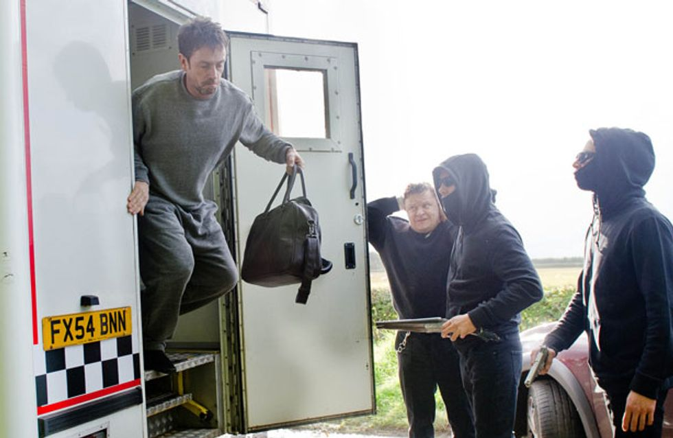 Emmerdale 10/10 - Cameron escapes after the prison van is ambushed
