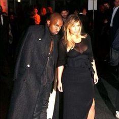 Kim & Kanye : A Paris pour un week-end en amoureux