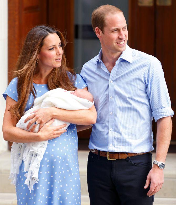 Kate, William & George