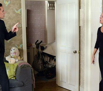 EastEnders 08/10 - Michael tells Janine he wants full custody of Scarlett