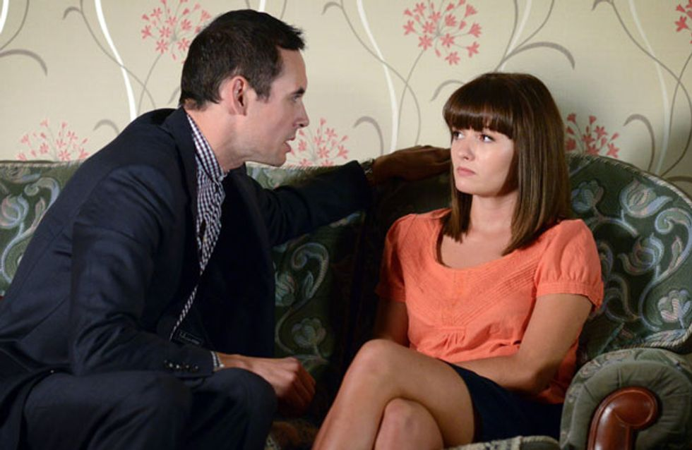 EastEnders 11/10 - Janine hands Michael an injunction…but he's got a plan