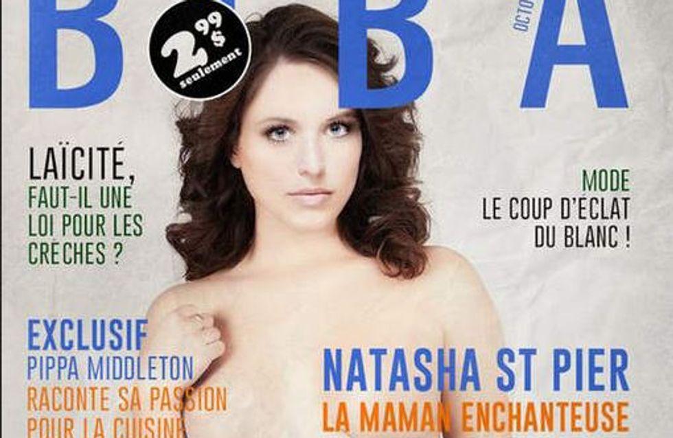 Natasha St-Pier : Nue et enceinte en couverture de Biba Québec ?