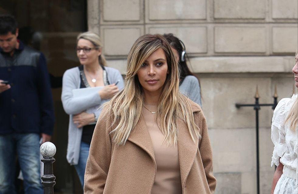 Kim Kardashian : Resplendissante à Paris pour la Fashion Week (Photos)