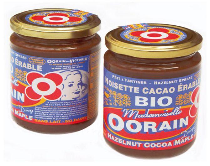 pâte à tartiner Bio Oorain