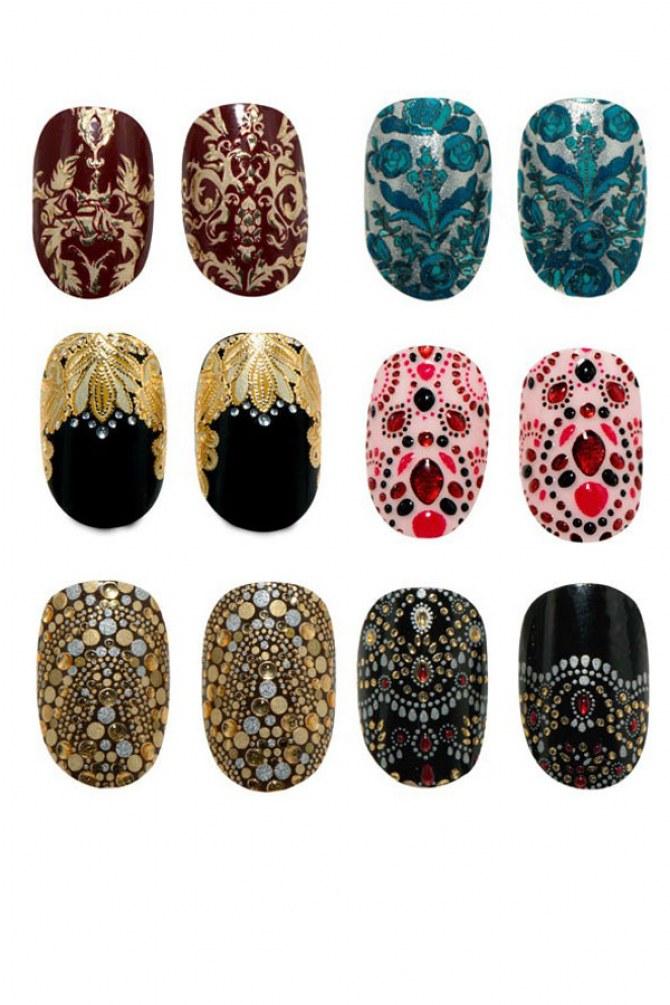 Revlon collaborates with Marchesa for designer nail wraps