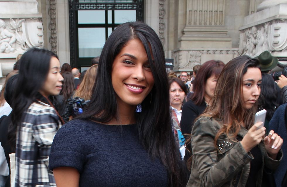 Ayem : Très chic pour le défilé Chanel (Photos)
