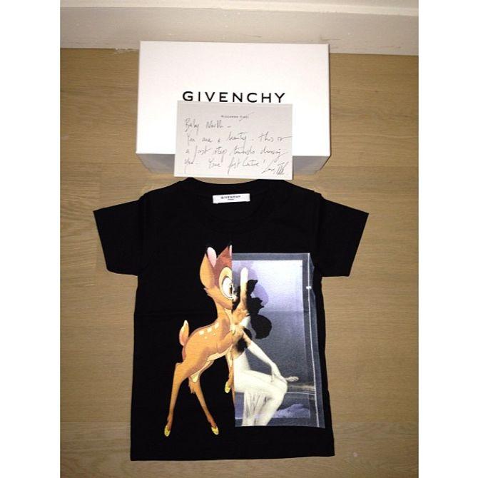 Le cadeau de Givenchy pour North