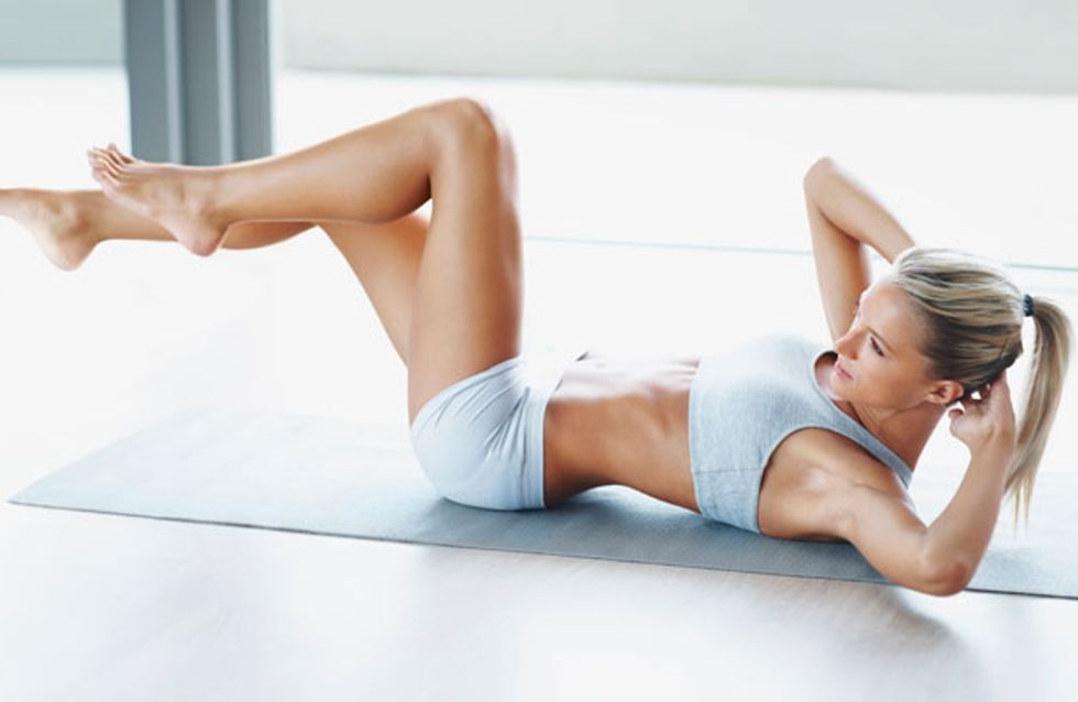 The best 10 minute exercise to sculpt abs fast!