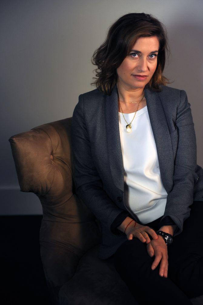 Emmanuelle Devos, rédac' chef d'un jour