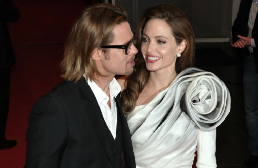 Are Angelina Jolie and Brad Pitt already married? Actress steps out wearing new ring