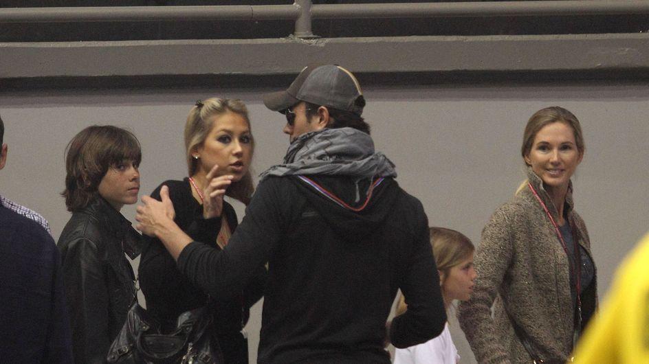 Enrique Iglesias y Anna Kournikova, ¿a un paso de la ruptura?
