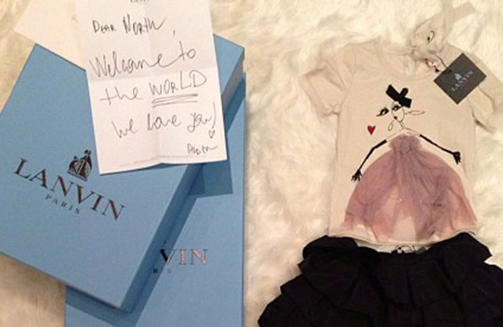 Baby North's Paris Fashion Week wardrobe: Designer tot