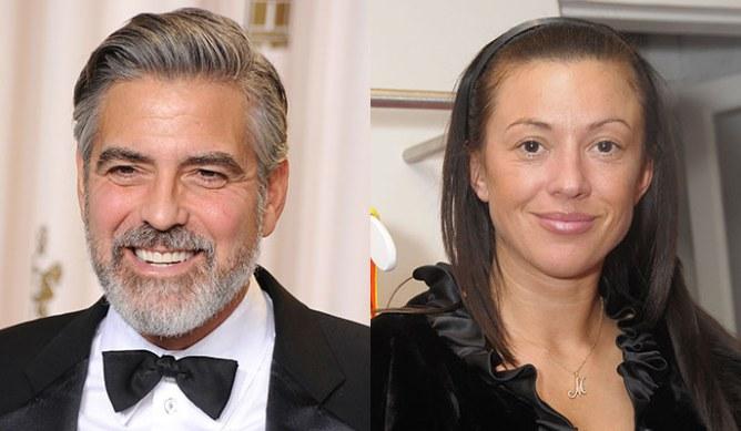 George Clooney and Monika Jakisic