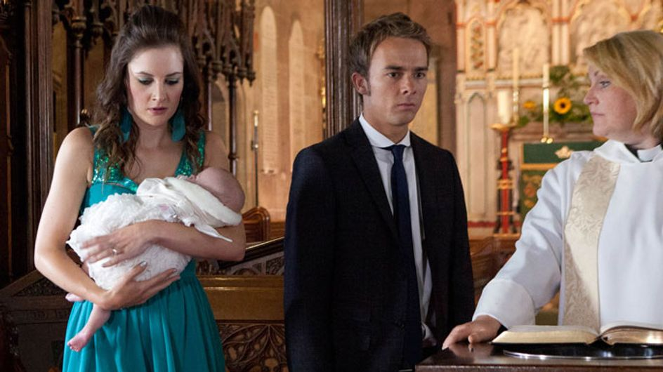 Coronation Street 16/10 - Secrets and lies threaten to surface at Lily's Christening