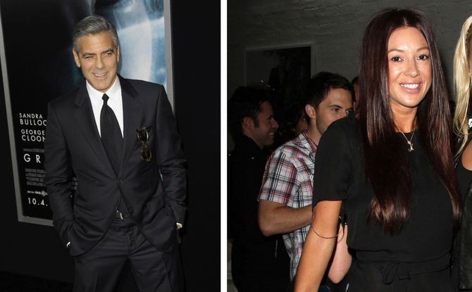 George Clooney e Monica Jakisic
