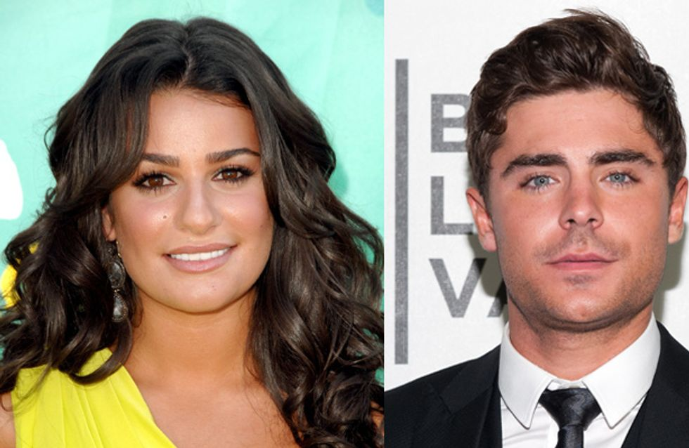 Lea Michele reaches out to offer support to Zac Efron post-rehab