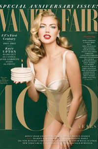 Kate Upton auf dem Cover der 'Vanity Fair'