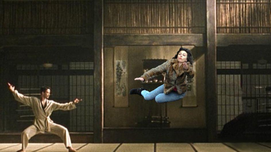Scarlett Johansson : Des parodies hilarantes de sa gamelle dans la rue (photos)
