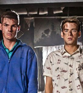 Hollyoaks 14/10 - Ste and Doug prepare to leave Hollyoaks