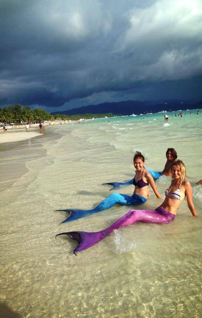 Une académie des sirènes vous apprend à nager comme Ariel