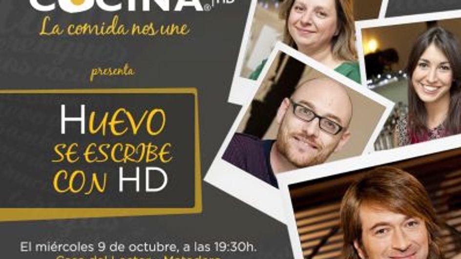"""""""Huevo se escribe con HD"""". Los blogueros más famosos de cocina en el streaming del evento"""